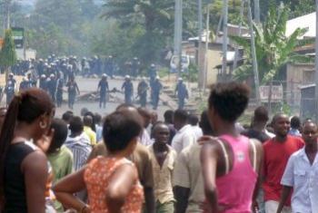 ONU apela ao retorno a um diálogo inclusivo. Foto: Desire Nimubona/IRIN.