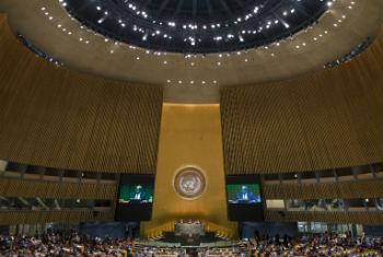 Assembleia Geral das Nações Unidas. Foto: ONU/Amanda Voisard