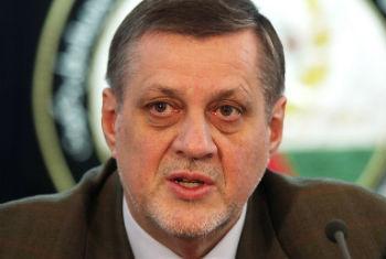 Jan Kubis, representante da ONU no Iraque. Foto: ONU/Fardin Waezi