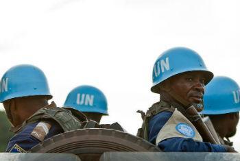 Soldados da paz na República Centro-Africanan. Foto: Minusca