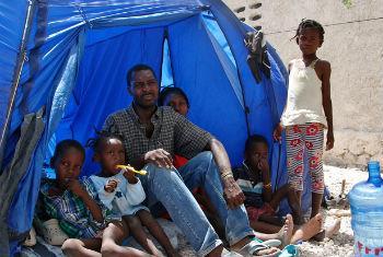 Migrantes na fronteira entre o Haiti e a República Dominicana. Foto: OIM/Ilaria Lanzoni