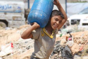 Falta de água na Síria. Foto: Unicef/Razan Rashidi
