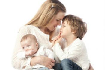Sofia Patrício e filhos. Foto: Arquivo pessoal