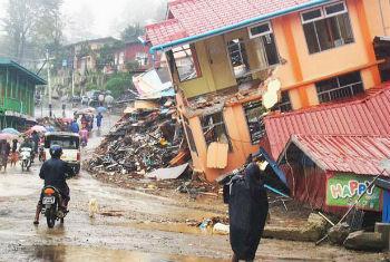 Mais de 200 mil pessoas precisam de assistência após tempestade. Foto: Unicef Mianmar