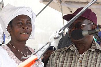 Adama Sankoh teve alta em Serra Leoa. Foto: OMS/M. Harris