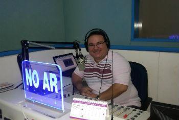 Gleydson Carvalho foi assassinado nos estúdios. Foto: Arquivo Pessoal