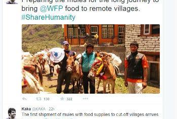 Kaká apoia a campanha da ONU via Twitter.