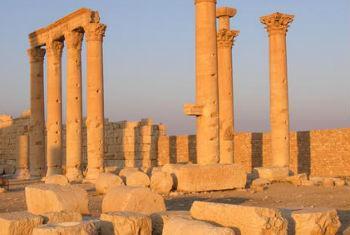 Palmyra, na Síria. Foto: © UNESCO/F. Bandarin