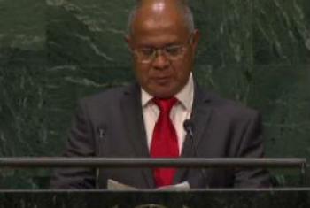 Presidente do Parlamento Nacional do Timor-Leste, Vicente Guterres. Foto: Rádio ONU.