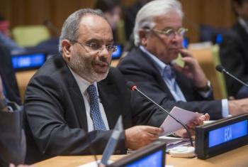 Secretário executivo da ECA, Carlos Lopes. Foto: ONU/Amanda Voisard