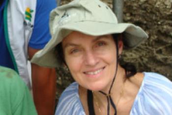 Monique Perret-Gentil, consultora do Programa Regional de Malária da Organização Panamericana de Saúde. Foto: Arquivo Pessoal.