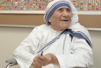 Madre Teresa de Calcutá. Foto: ONU.