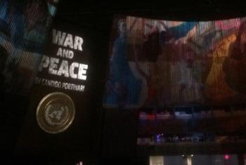 Murais foram apresentados na Assembleia Geral.