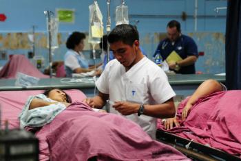 O Banco Mundial destaca que 400 milhões de pessoas no mundo não têm acesso a serviços básicos de saúde.Foto: Banco Mundial