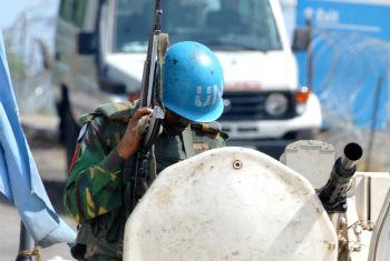 Politica de tolerência zero contra abusos sexuais cometidos por soldados de paz. Foto: ONU/Basile Zoma