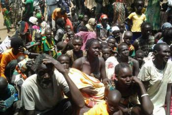 Refugiados sul-sudaneses na fronteira com a Etiópia. Foto: Acnur/R. Riek