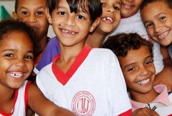 Crianças brasileiras. Foto: Unicef Brasil/Manuela Cavadas