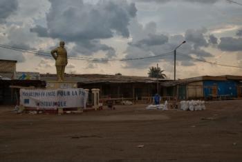 Bangui, na República Centro-Africana. Foto: ONU/Nektarios Markogiannis