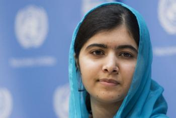Malala Yousafzai. Foto: ONU/Mark Garten (arquivo)