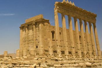 Templo de Bel, em Palmyra, na Síria. Foto: Unicef