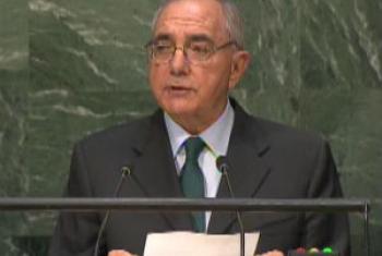 Rui Machete discursa na Assembleia Geral