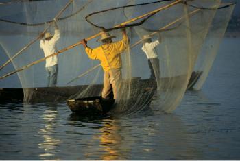 Pescadores no México. Imagem: Curt Carnemark / World Bank