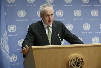 O porta-voz de Ban Ki-moon lembrou que a investigação foi feita de acordo com uma resolução do Conselho de Segurança. Foto: ONU/Evan Schneider