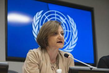 Subsecretária-geral da ONU para Informação Pública, Cristina Gallach. Foto: ONU/Kim Haughton