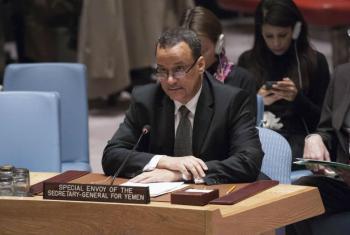 Eviado especial da ONU para o Iêmen, Ismail Ould Cheikh Ahmed. Foto: ONU/Kim Haughton