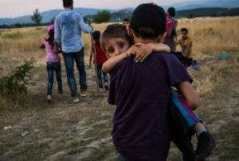 Refugiados fogem de países em conflito. Foto: Acnur/Andrew McConnel