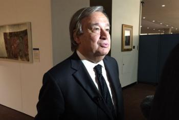 António Guterres. Foto: Rádio ONU/Denise Costa