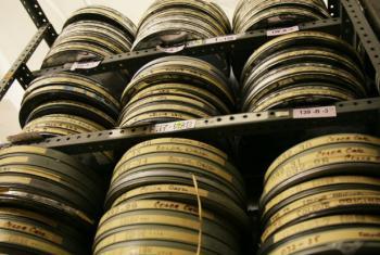 Parte do arquivo audiovisual das Nações Unidas. Foto: ONU/JC McIlwaine