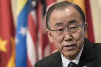 Ban Ki-moon Foto: ONU/Mark Garten