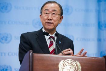 Secretário-Geral da ONU, Ban Ki-moon. Foto: ONU/Amanda Voisard (arquivo)