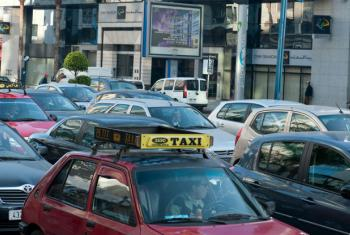 Tráfego em Casablanca, Marrocos. Foto: Arne Hoel/Banco Mundial
