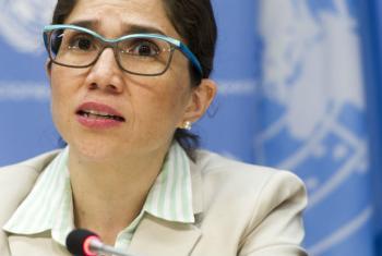 Catalina Devandas Aguilar. Foto: ONU/Mark Garten