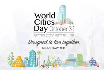 Dia Mundial das Cidades. Imagem: ONU Habitat