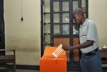 Eleições na República Democrática do Congo. Foto: ONU/Kevin Jordan