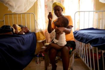 A OMS diz que vírus altamente infeciosos e imprevisíveis das gripes sazonal e aviária são ameaças a surgir em África. Foto: Banco Mundial