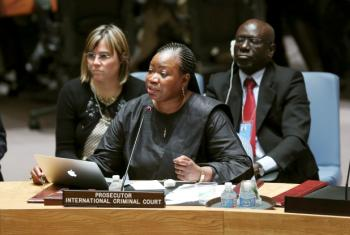 Fatou Bensouda disse haver relatos de crescentes tensões. Foto: ONU/Ryan Brown.