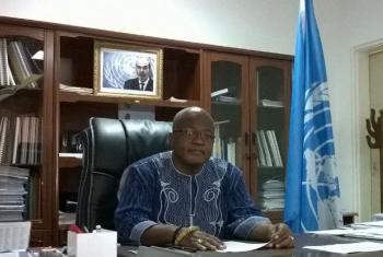 Joachim Akadie. Foto: Rádio ONU/Amatijane Candé