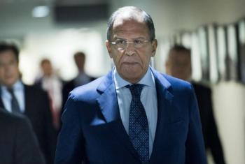 Sergey Lavrov. Foto: ONU/Mark Garten