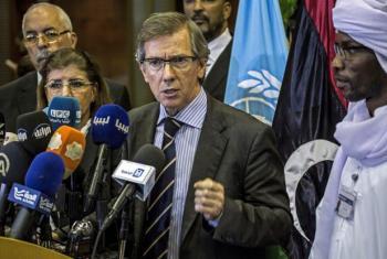 Bernardino León disse que processo envolveu mais de 150 personalidades líbias. Foto: Unsmil