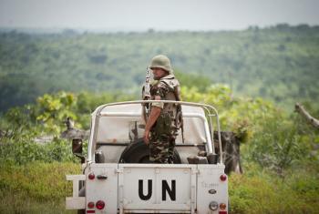 Soldado da paz na República Centro-Africana. Foto: Minusca