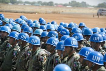 Soldados de paz da ONU no Haiti