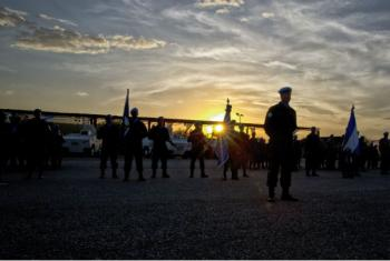 Forças da Minustah, lideradas pelo brasileiro Ajax Porto Pinheiro, no Haiti. Foto: ONU/Igor Rugwiza