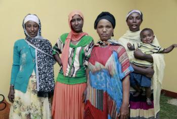 A Etiópia registou um aumento de um terço nas admissões de crianças gravemente desnutridas com menos de cinco anos. Foto: Binyam Teshome / Banco Mundial