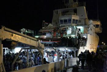 Conselho de Segurança quer inspeção de embarcações para combater o contrabando de migrantes e o tráfico humano. Foto: OIM