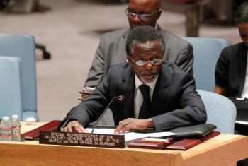 Parfait Onanga-Anyanga é o representante do secretário-geral das Nações Unidas na República Centro-Africana. Foto: ONU/Loey Felipe