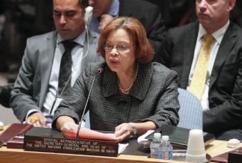 Sandra Honoré em discurso no Conselho de Segurança. Foto: ONU/JC McIlwaine